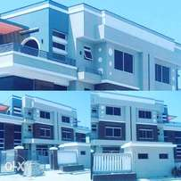 Upscale contemporary 5bedroom semi detached duplex with 1rm BQ