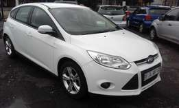 Ford Focus 1.6 Colour White Model 2013 5 Doors Factory A/C&Mp3 Player