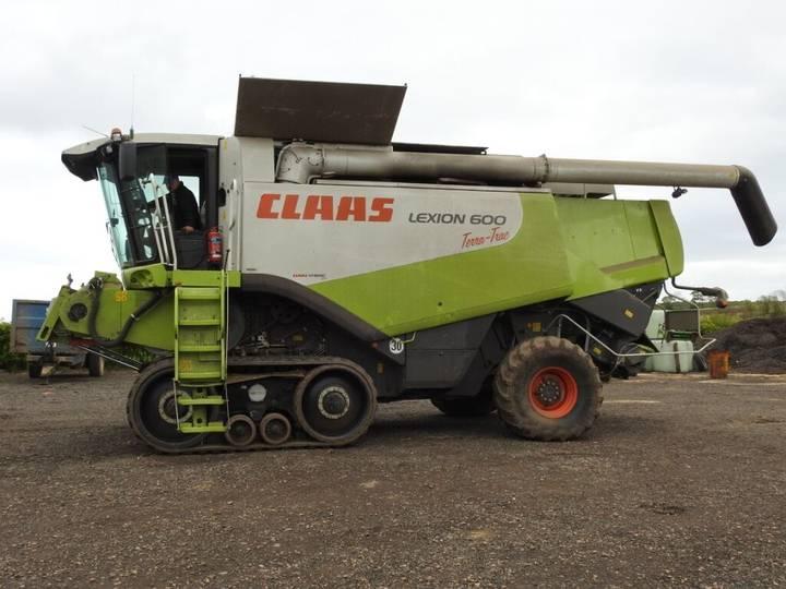 Claas Lexion 600TT - 2008