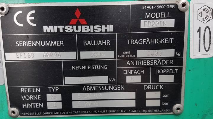 Mitsubishi FD20CN - image 14