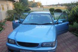 1.3 Toyota Tazz Excellent Condition R18000