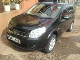 Nissan lafesta 2006 model on quick sale black