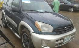 RAV4 2001 naija used very clean and neat