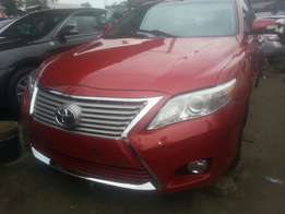 Tincan cleared tokunbo toyota camry 2010 fuloption xle