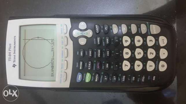 Ti-84 plus programable calculator
