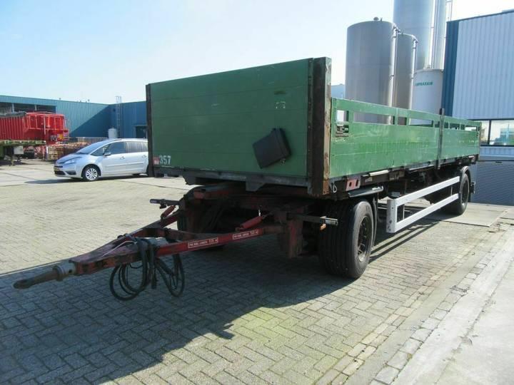 Schmitz Cargobull 2 ASSIGE AANHANGER - 2006