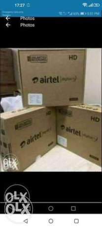 New stack available new box hd airtel