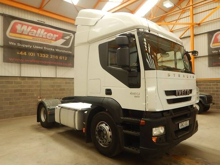Iveco STRALIS ACTIVE TIME 420 EURO 5, 4 X 2 TRACTOR UNIT - 2013 - - 2013