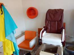 Spa pedicure massage chair at a give away price