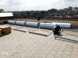 Solar water heating system sell and installation by licenced erc tech