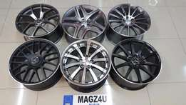 "Mags 4 u wheel & tyre experts..19""&20"" to fit merc/audi"