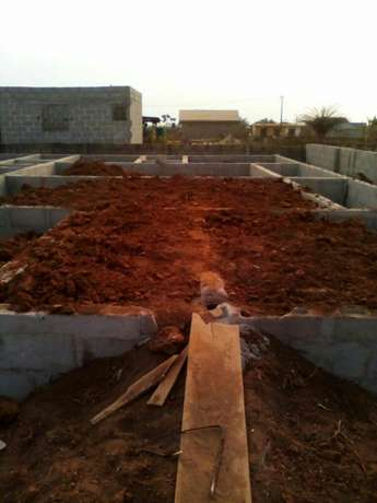 A plot of land with a new foundation at igbogbo ikorodu Lagos Ikeja - image 3