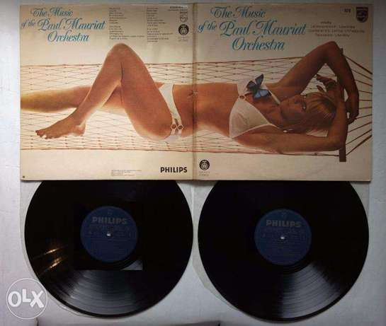 the music of paul mauriat double lp vinyl
