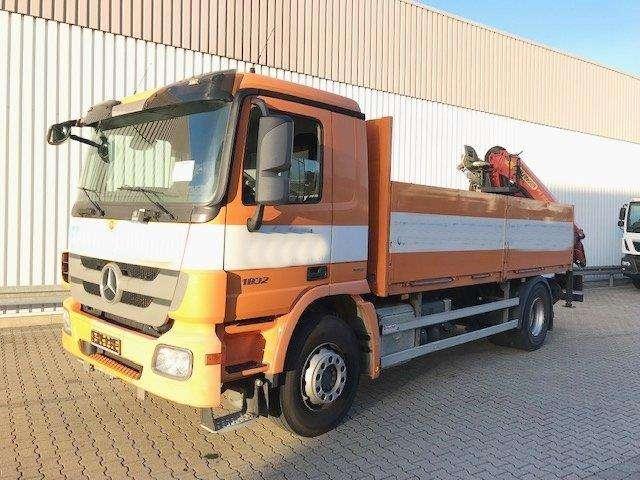 Mercedes-Benz Actros 1832 L 4x2 Actros 1832 L 4x2 Mit Heckkran Palfinger - 2010