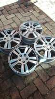 Almost new Chev Sonic mags 15 inch 5/105pcd