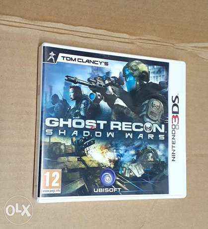 Ghost Recon Shadow Wars Nintendo 3DS game.