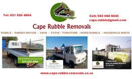 Rubble, Waste Removal & any deliveries