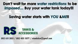 Beat the WATER RESTRICTIONS...Water Tanks & Accessories available (gp)