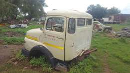 Mercedes bullnoze cab and engine for sale