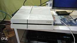 Playstation 4 Ps4 white plus Watchdogs
