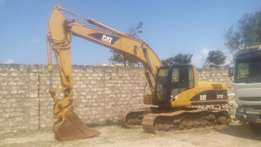 320DL excavator for excavation and loading work on site and other mach