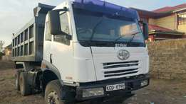 Faw tipper kCD well maintained 2015 model