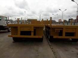New 3 axle flat bed for sale