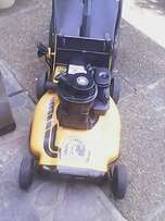 Warrior 3.5HP Petrol lawnmower in excellent condition