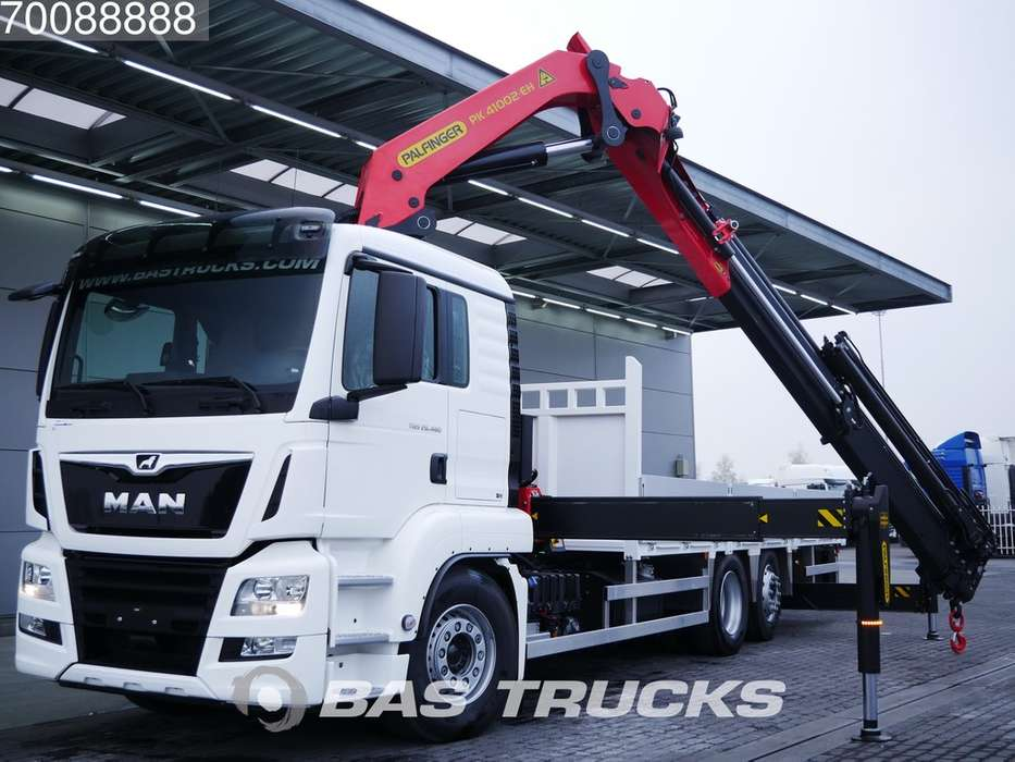MAN TGS 26.460 L 6X2 Coming-soon! Palfinger Crane PK 41002-EH...