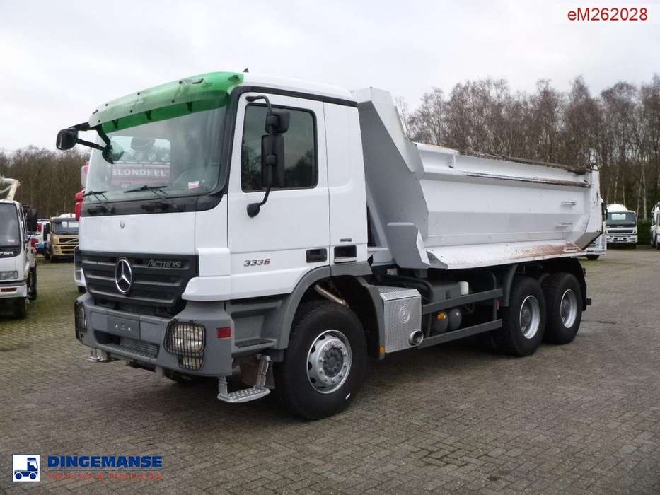 Mercedes-Benz Actros 3336 6x4 tipper - 2017