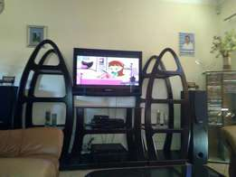 3 piece entertainment stand