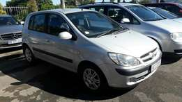 A Bargain 2006 Hyundai 1.4 Getz with all extras and complete originals