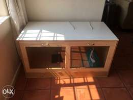 Exotic pet cage with accessories for sale