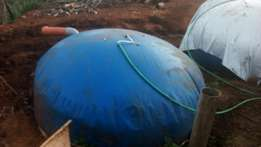 Biogas systems installed on on credit