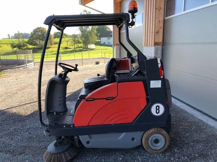 Hako Kehrmaschine Jonas 1200E elektro mit Hochentleer - 2012