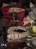 A container of uk used shoe for sale at affordable price