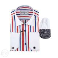 Balenciaga Designer VIP Shirts (Striped)