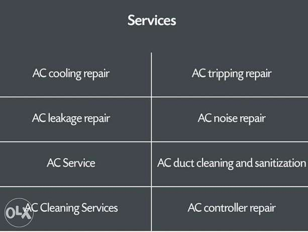 all type repair air condition