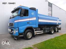 Volvo Fh12.500 6x2 Tank Truck Manual - To be Imported