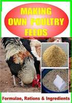 making your own poultry feeds