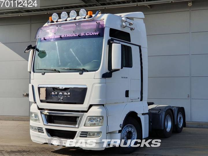 TGX 26.540 XXL 6X2 XXL Manual Liftachse Euro 5 - 2010