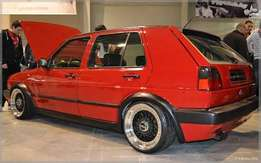 Vw Golf 2 Wanted