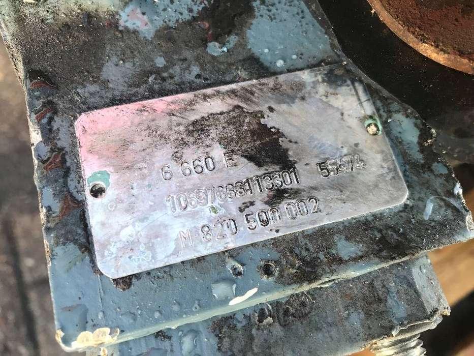 MAN 6 660E Marine Diesel Engine - DPX-11737 - 1999 - image 3