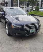 A very sharp 2011 audi A8 FOR GRAB HERE IN LAGOS