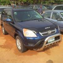 Nigerian Used Honda CR-V, 2004. Buy & Drive.