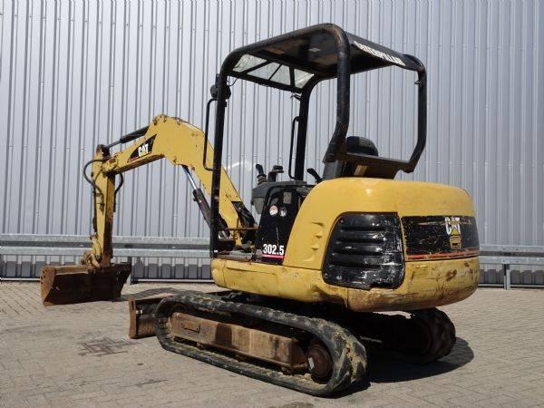 Caterpillar 302.5 Minigraver, Minibagger, Mini excavator incl 3 bakke... - 2005 - image 3