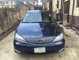 Used Toyota Camry XLE 2005 Leather Interior
