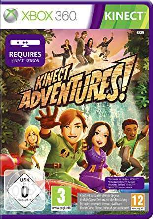 Brand New XBOX 360 Kinect Adventures Original Game