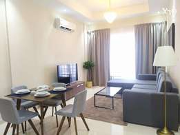Bright & Harmonious 2BR apartment with city view - free internet -