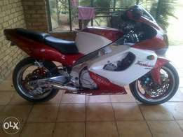 Thunderace YZF1000 for sale or to swop